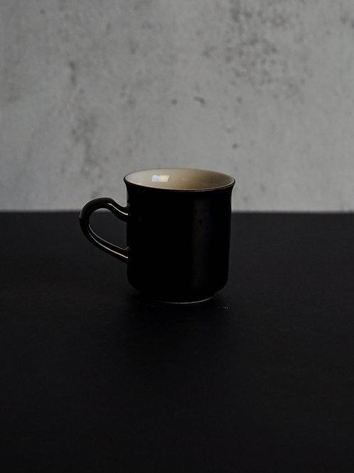 Dark Brown Vintage Coffee Cup