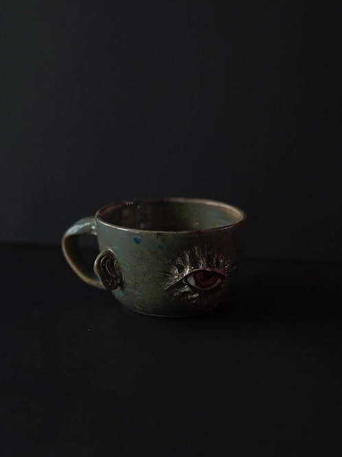 All Eyes On You  Latte Cup