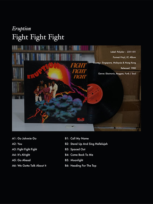 Fight Fight Fight by Eruption (1980)