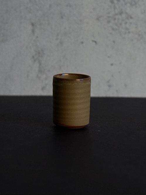 Binzenyaki Brown Ceramic Tea Cup