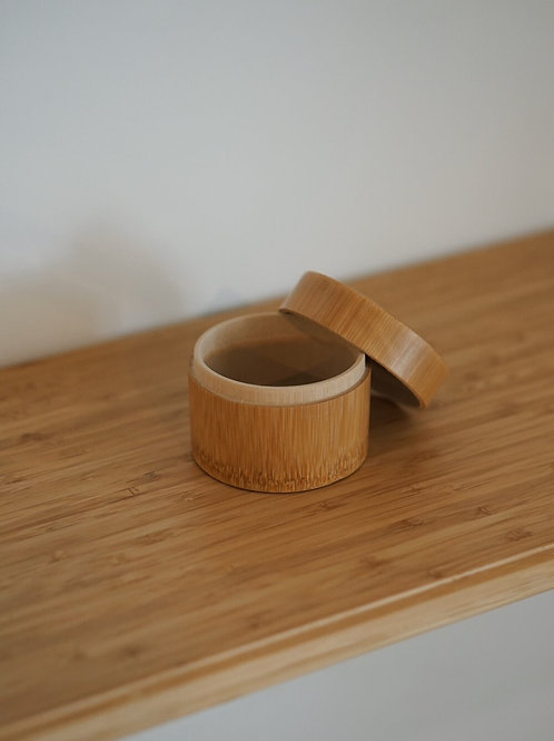 Bamboo Tea Leaves Container (Small)
