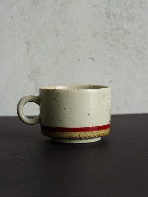 Vintage Glazed Coffee Cup