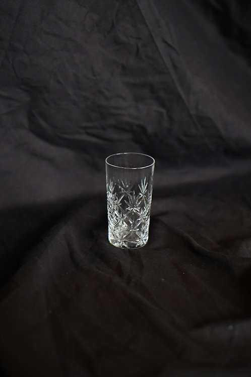 Japanese Cut Crystal Glass Sake Cup 110032