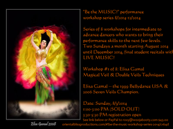 Be the MUSIC performance workshop#1