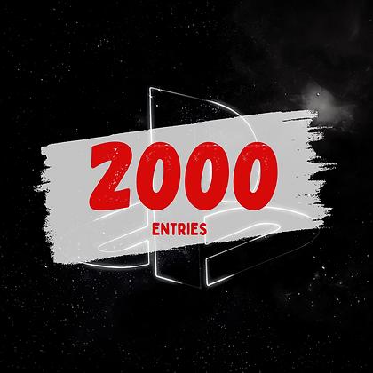 2000 Entries