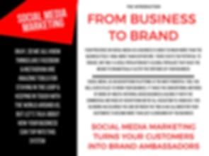social media marketing, brand ambassadors, business advertising, social media advertising