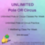 Unlimited Pole or Circus