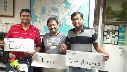 Smokers from India, MS, San Antonio