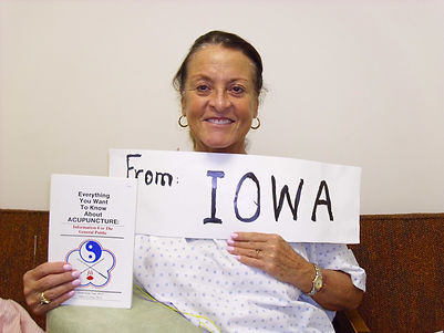 PATIENT FROM IOWA
