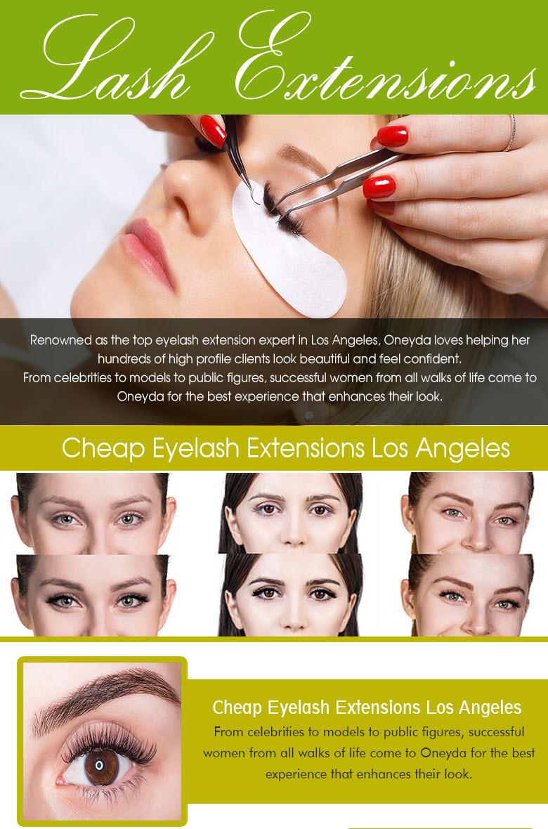 Eyelash Extensions Salons In Los Angeles Oneyda Eyelashes Los