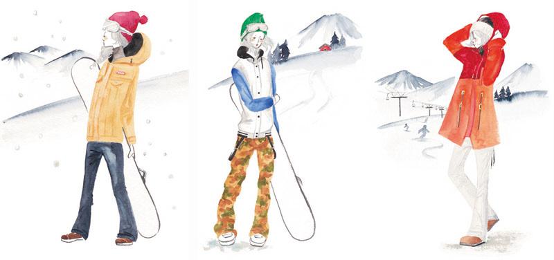 スノーボードウェア「JEWEL」