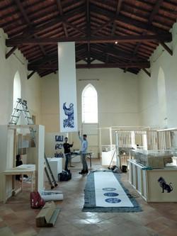 Création du nouvel espace muséal de l'abbaye