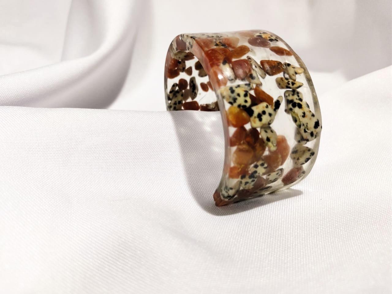 Bracelete DeObá Leopardita