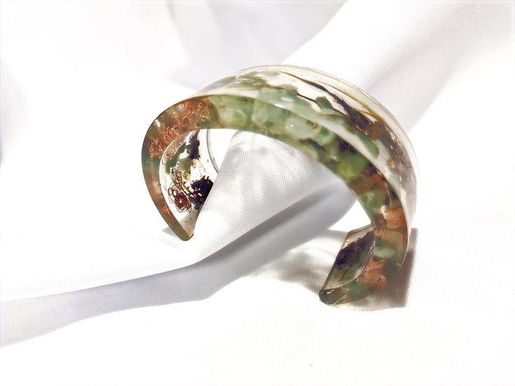 Bracelete DeObá Musgo Europeu