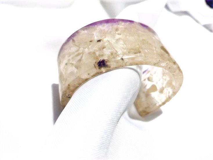Bracelete DeObá Cristal Rutilado