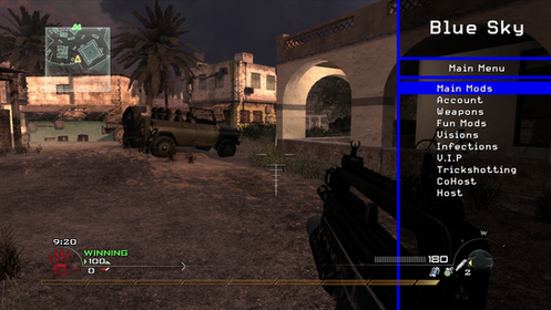 mw2 modded lobby pc