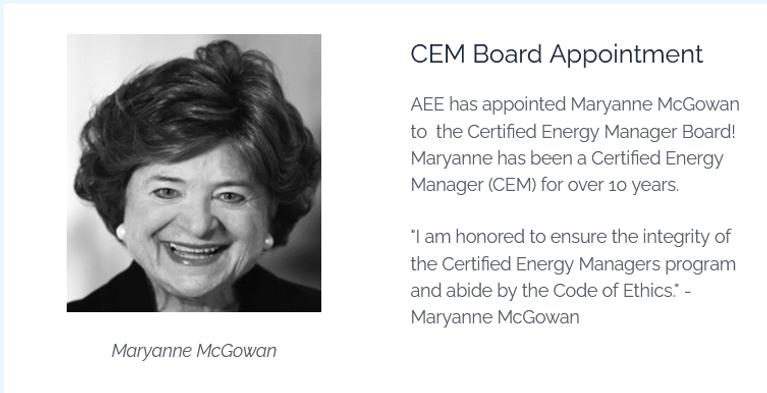 Maryanne on CEM board - 2021-05-21 CWEEL