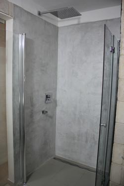 חיפוי מקלחון - אחרי