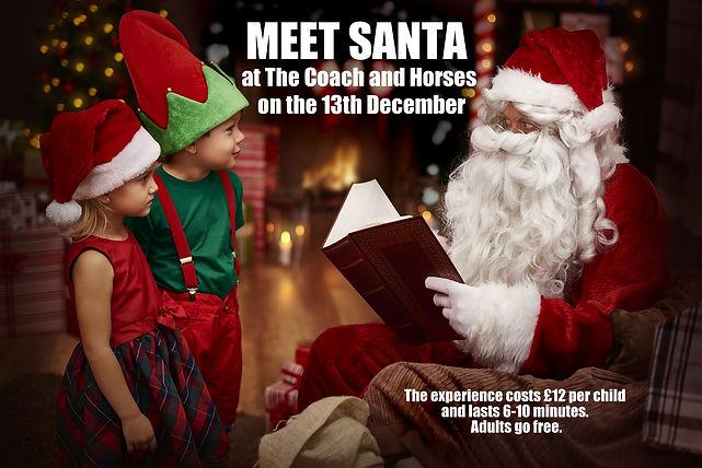 meet santa newbury thatcham coach and ho