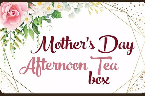 MOTHER's DAY SILVER AFTERNOON TEA £24.50 per person