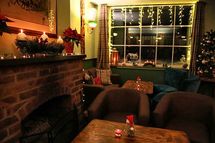 coach and horses midgham christmas day (