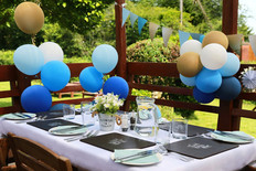 birthday party outdoor garden event cele