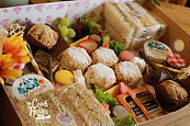 takeaway afternoon tea box coach and hor
