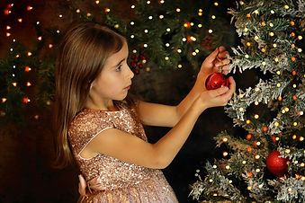 christmas photo session Newbury thatcham