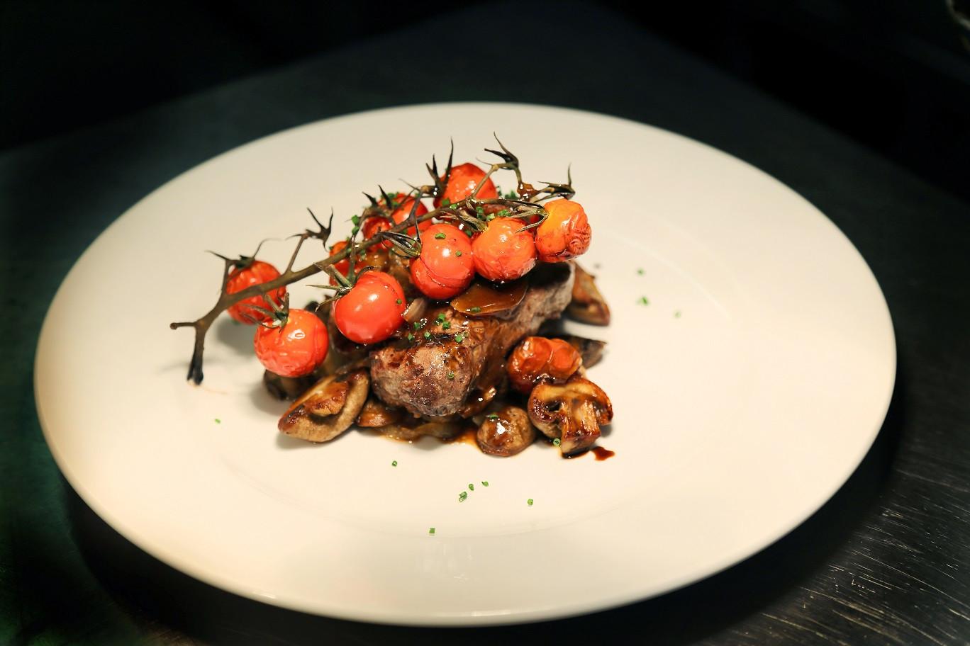Steak The coach and horses midgham menu food a