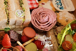 mothers day single box hamper coach and