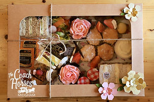 mothers day box hamper coach and horses