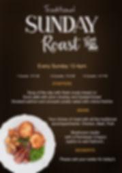 SUNDAY ROAST the coach and horses midgham