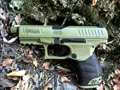 Cerakote Green Handgun