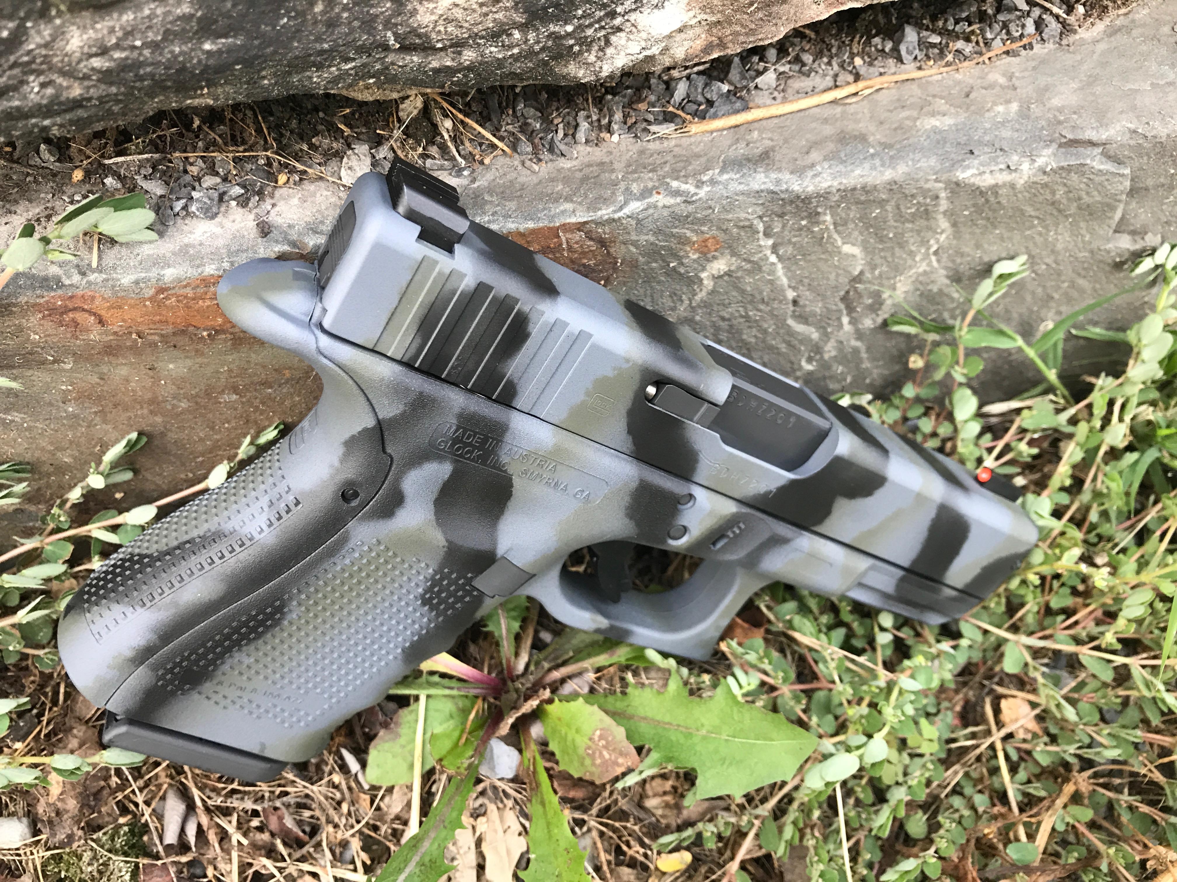 Cerakote Camo Handgun