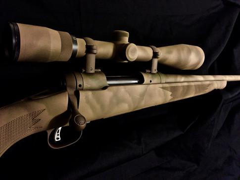 Cerakote Camo Freehand Rifle