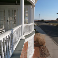 cape may front porch view