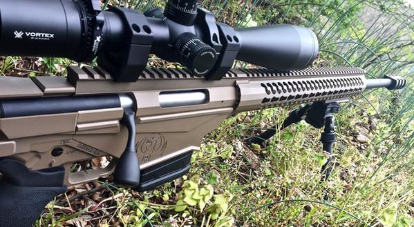 Cerakote Brown Rifle