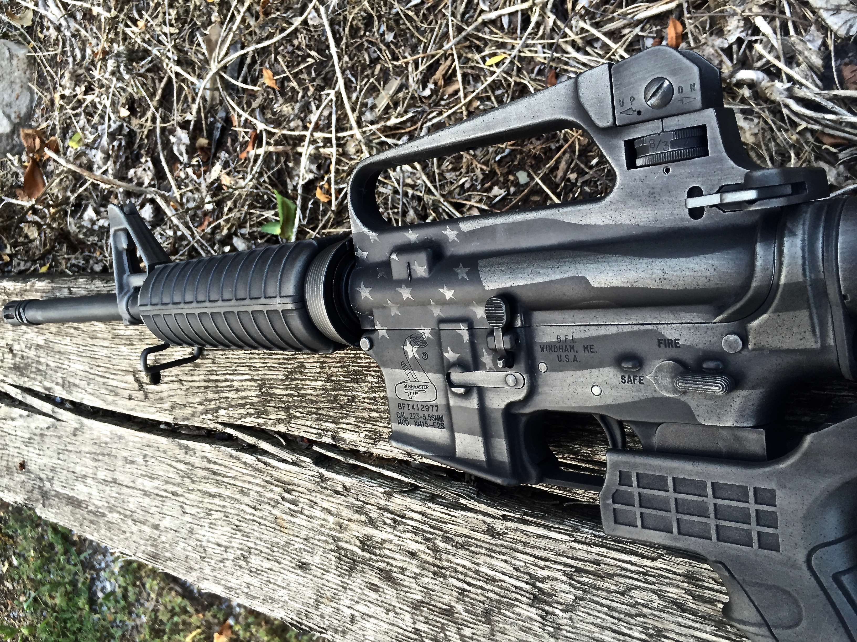 Cerakote Black Flag AR-16