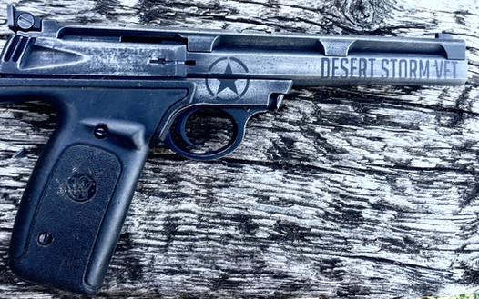 Cerakote Desert Storm Handgun