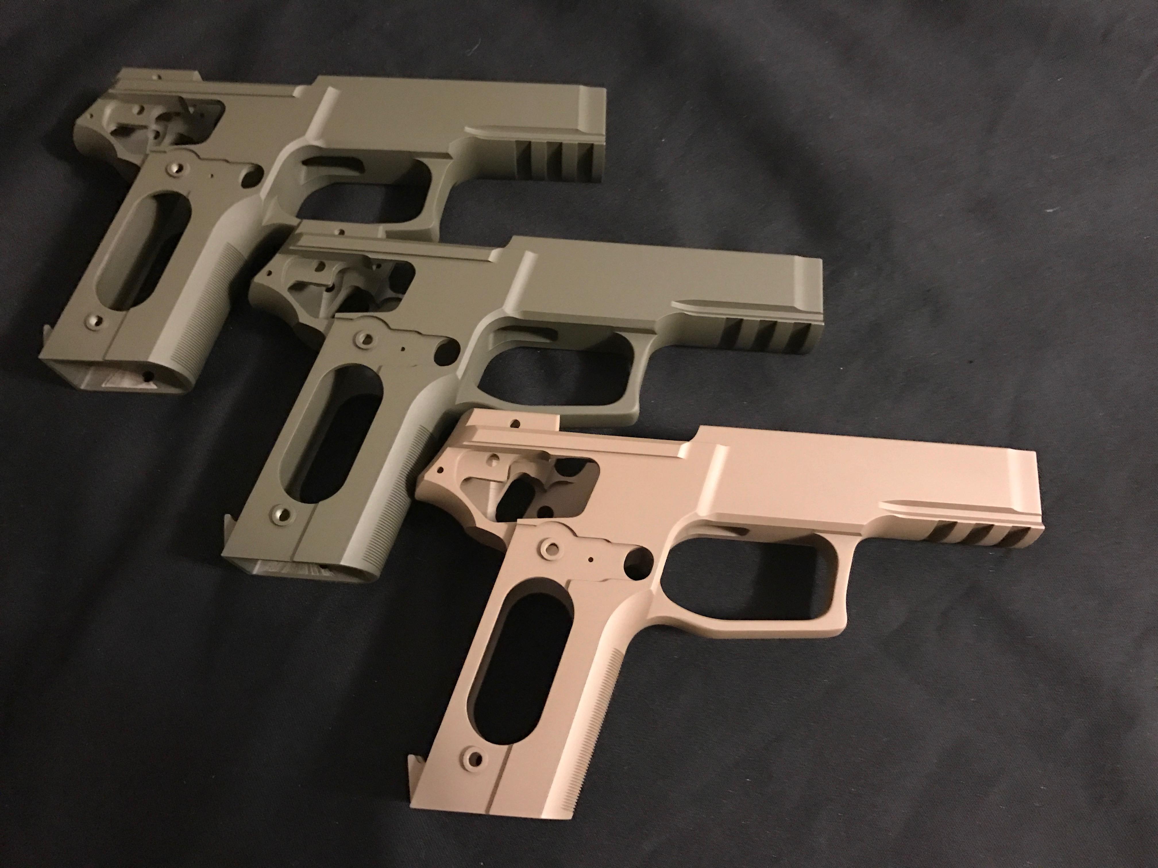 Cerakote Gun Frame