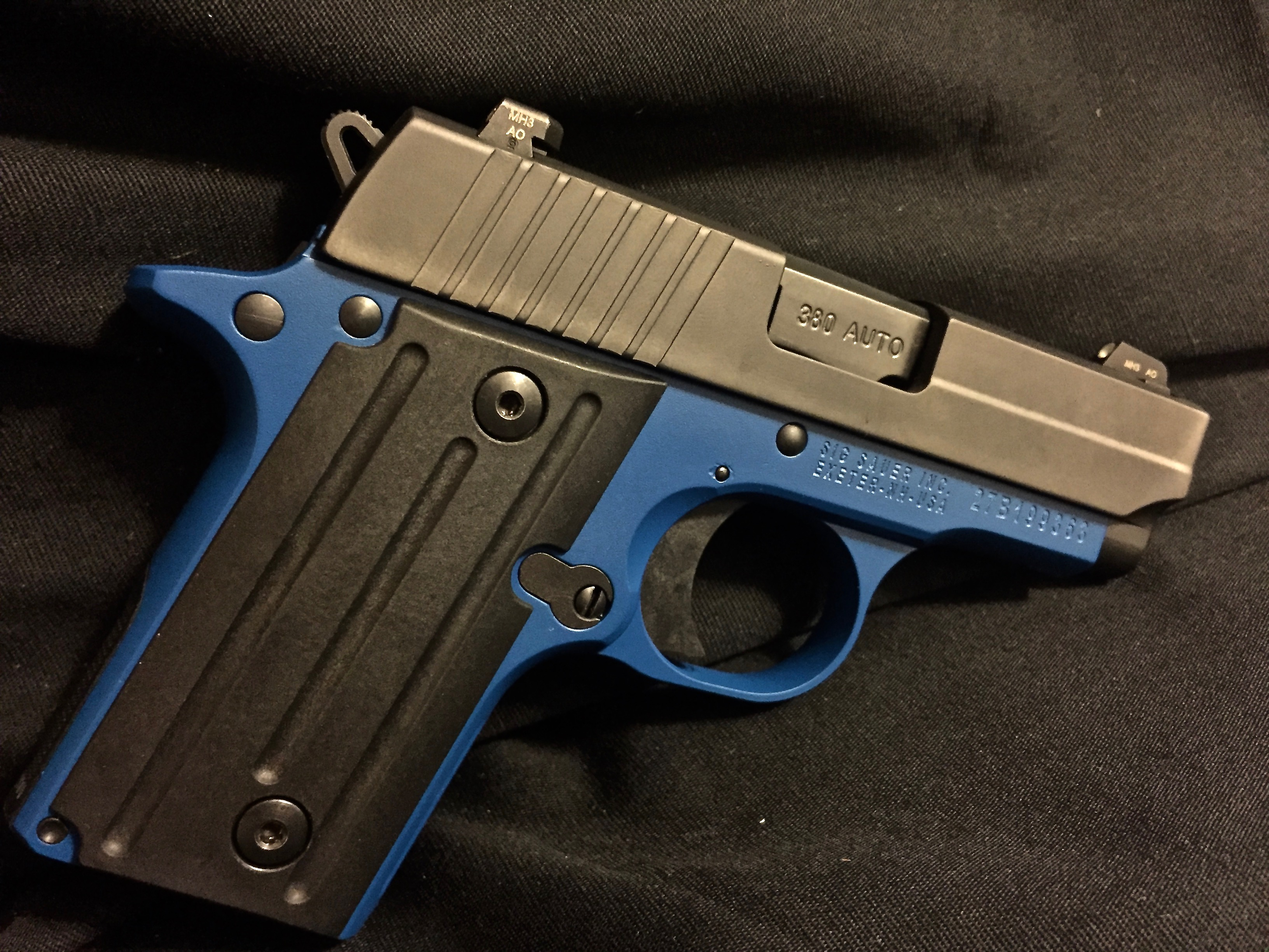 Cerakote Blue Lower Handgun