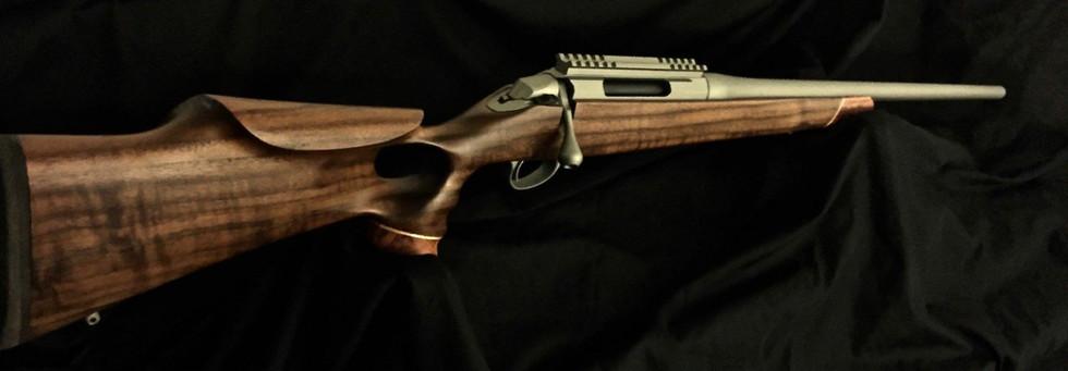Cerakote Clear Coat Custom Rifle