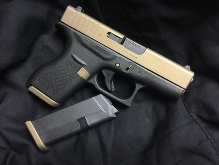 Cerakote Two Tone Custom Handgun