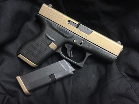 Cerakote Two Tone Custom Handgun