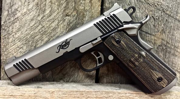 Cerakote Silver Handgun