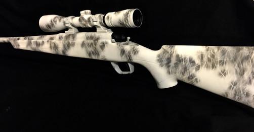 Cerakote Desert Camo Rifle