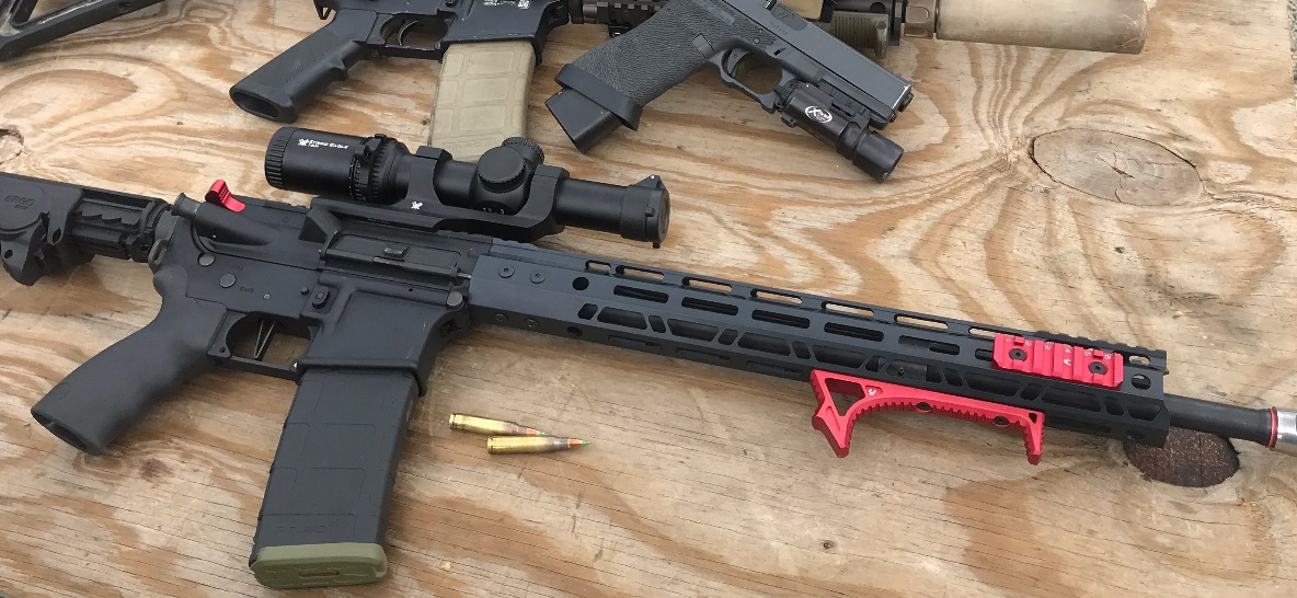 Cerakote Candy USMC Red Accessories