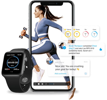 genetic fitness and meal plans combined with technology