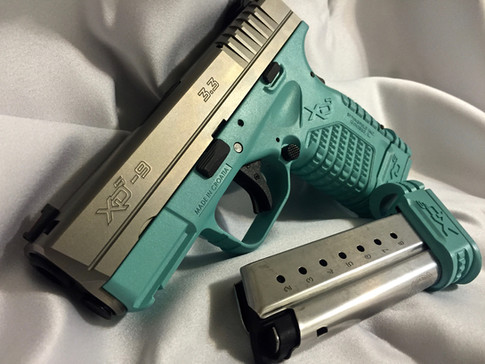 Cerakote Teal Lower Handgun