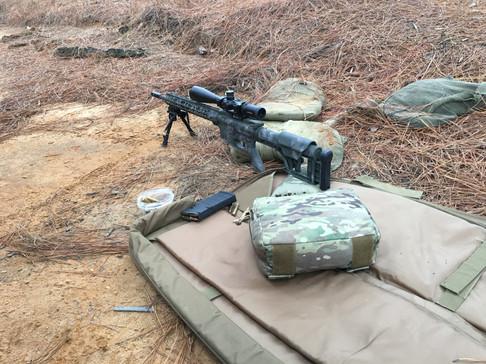 Cerakote Camo Custom Rifle